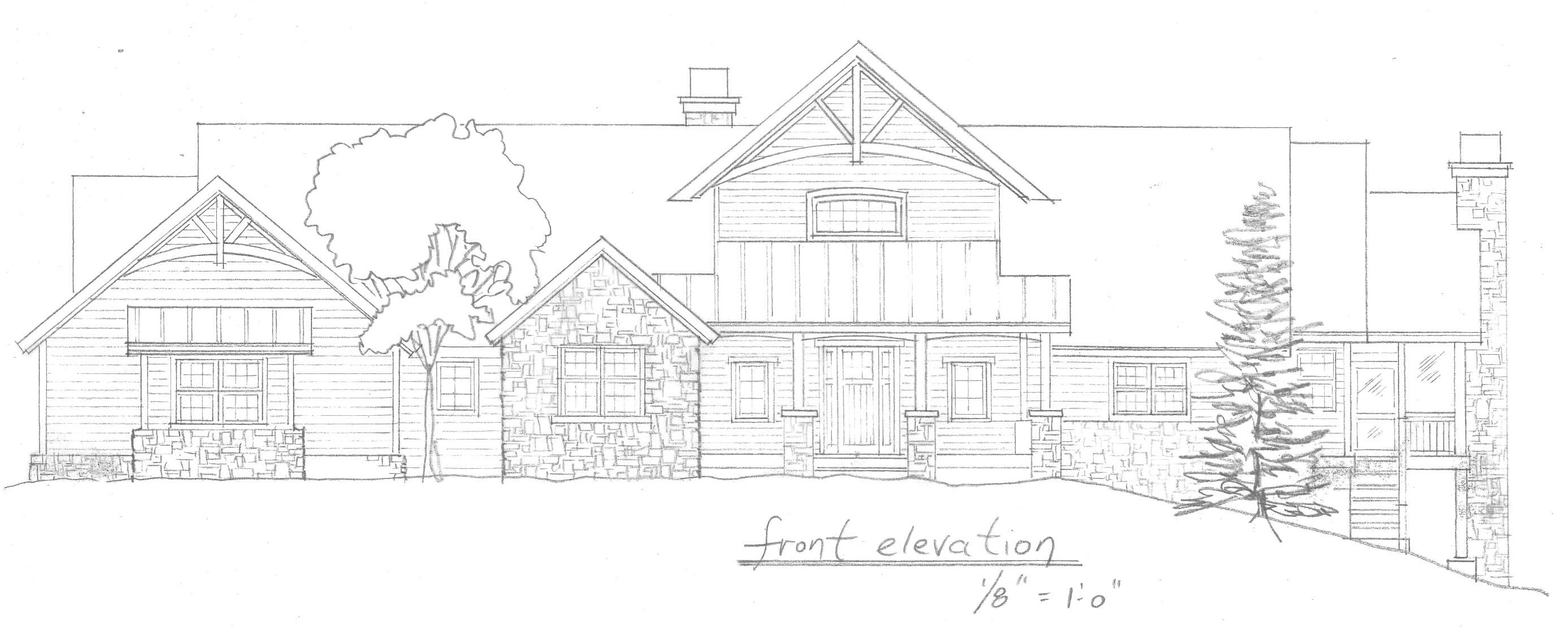 Sylvan Habitat House Early Sketch For This Home View Image Please Add Picture